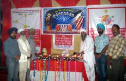 On 9,10,11,12,13 November 2012 enlightened continous jots at central jail, Ludhiana and an open kitchen was organized in all three jails of Ludhiana