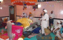 Nigraan Sewa Sanstha prayed at Central Jail, Ludhiana for everyone's wellness on auspicious occasion of Diwali 2013
