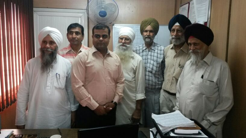 Nigraan Sewa Sanstha meeting with SOMA