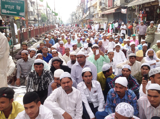 Calendar with message of love & peace released on Eid by Nigraan Sewa Sanstha